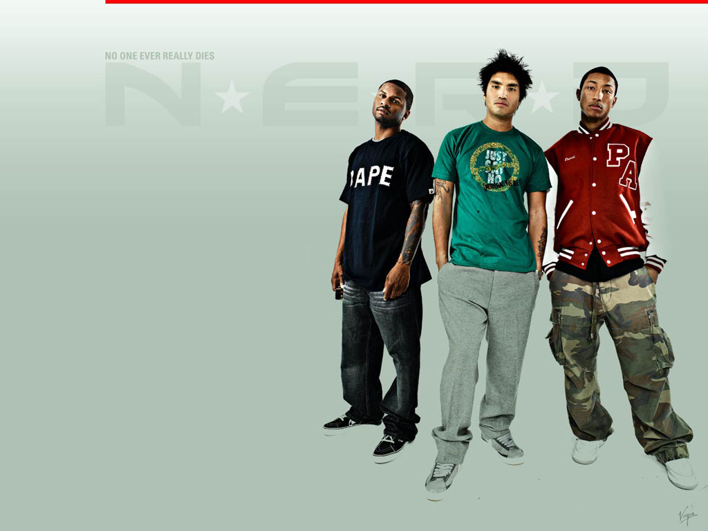 Music Wallpaper: N.E.R.D.