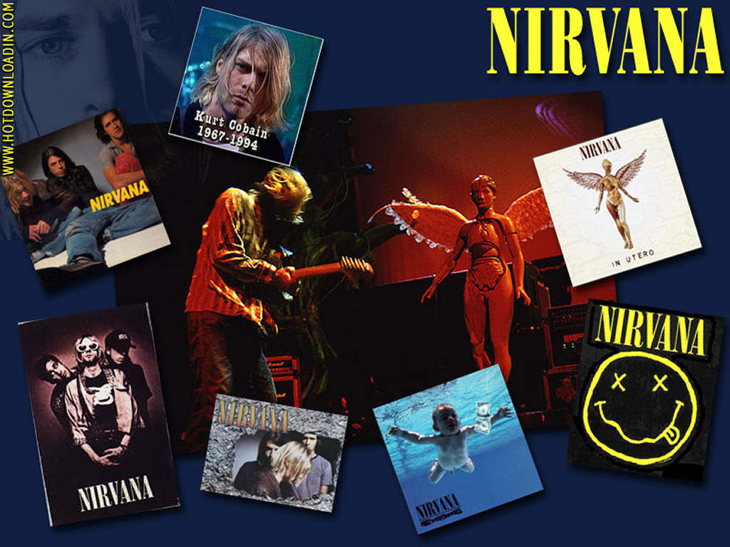 Music Wallpaper: Nirvana - Collage