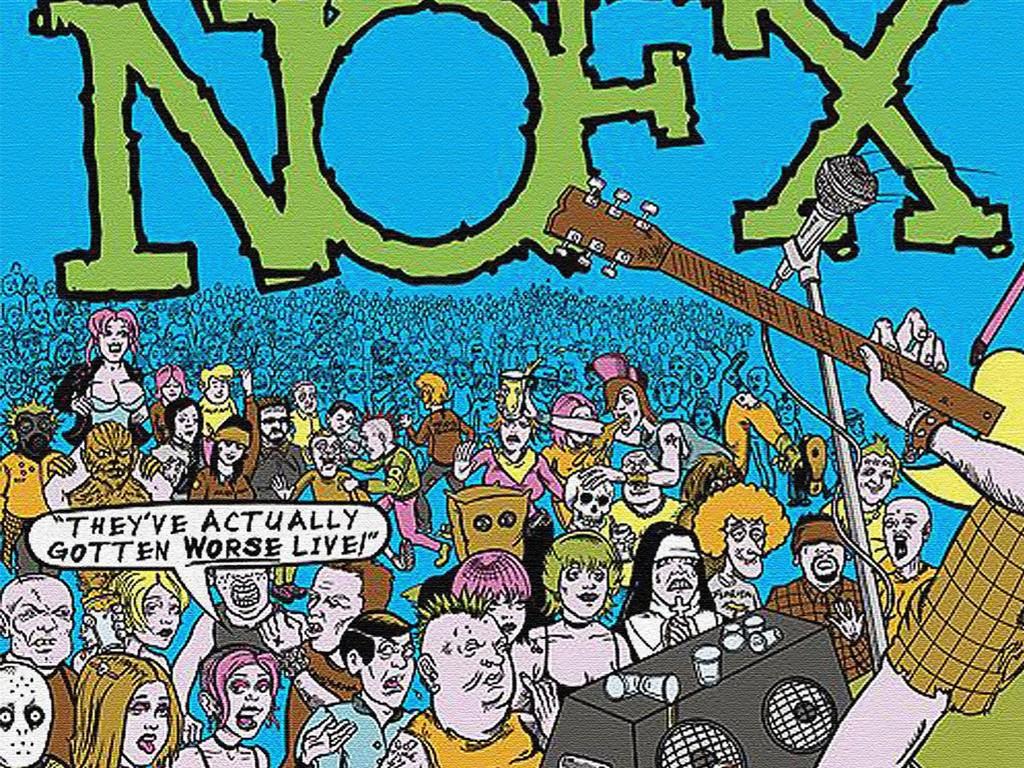 Music Wallpaper: NOFX - Live