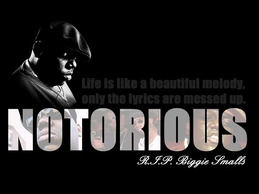 Music Wallpaper: Notorius B.I.G.