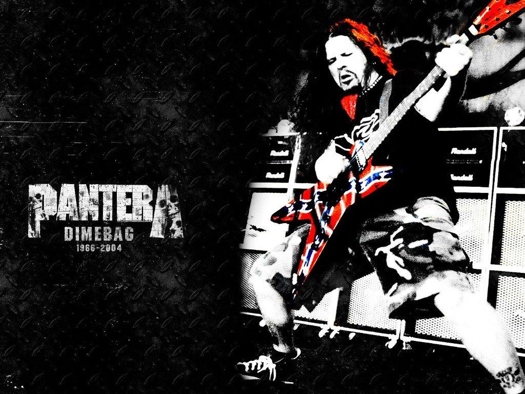 Music Wallpaper: Pantera - Dimebag