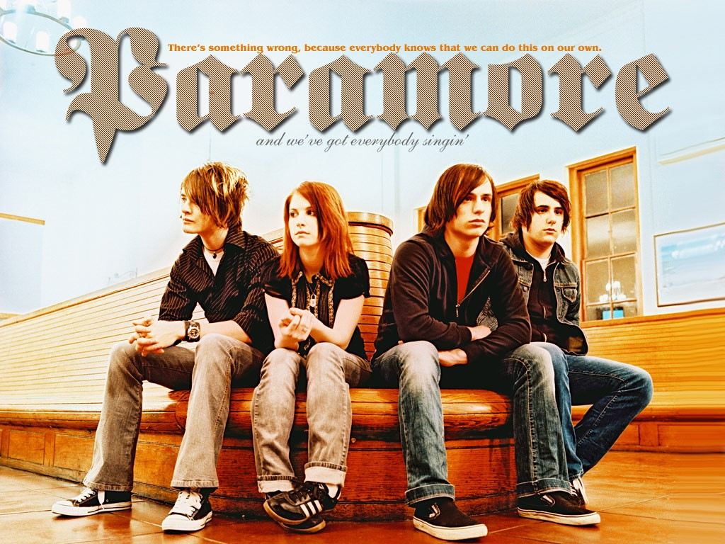 Music Wallpaper: Paramore