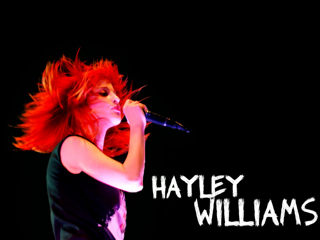 Music Wallpaper: Paramore - Hayley Williams