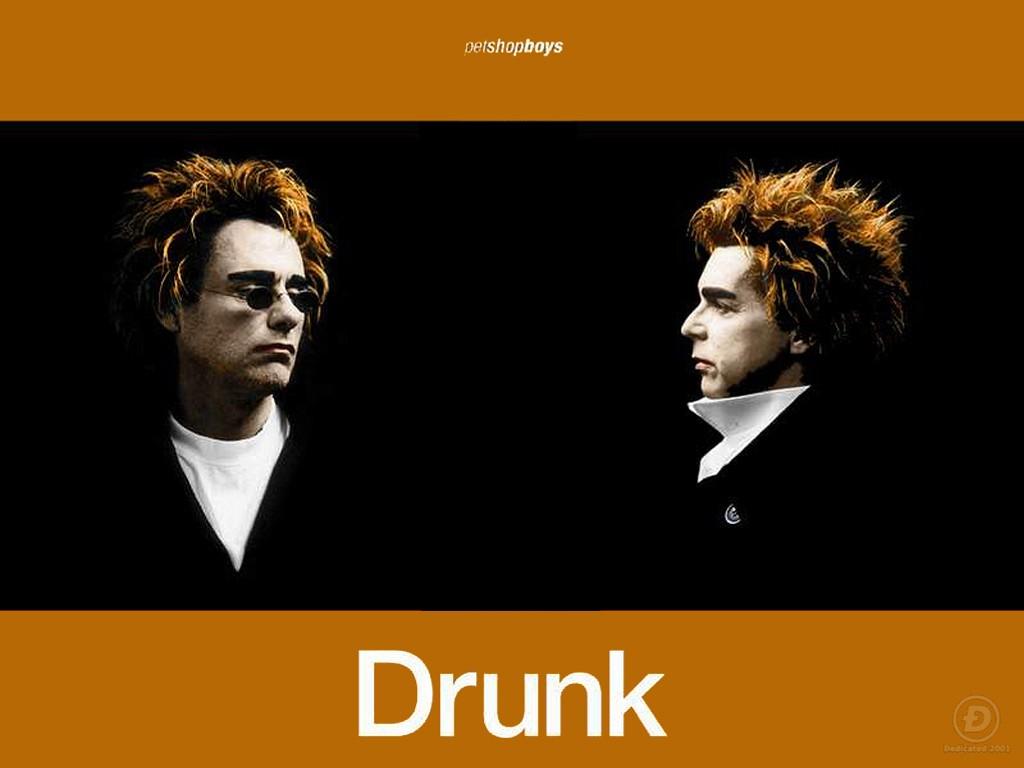 Music Wallpaper: Pet Shop Boys - Drunk