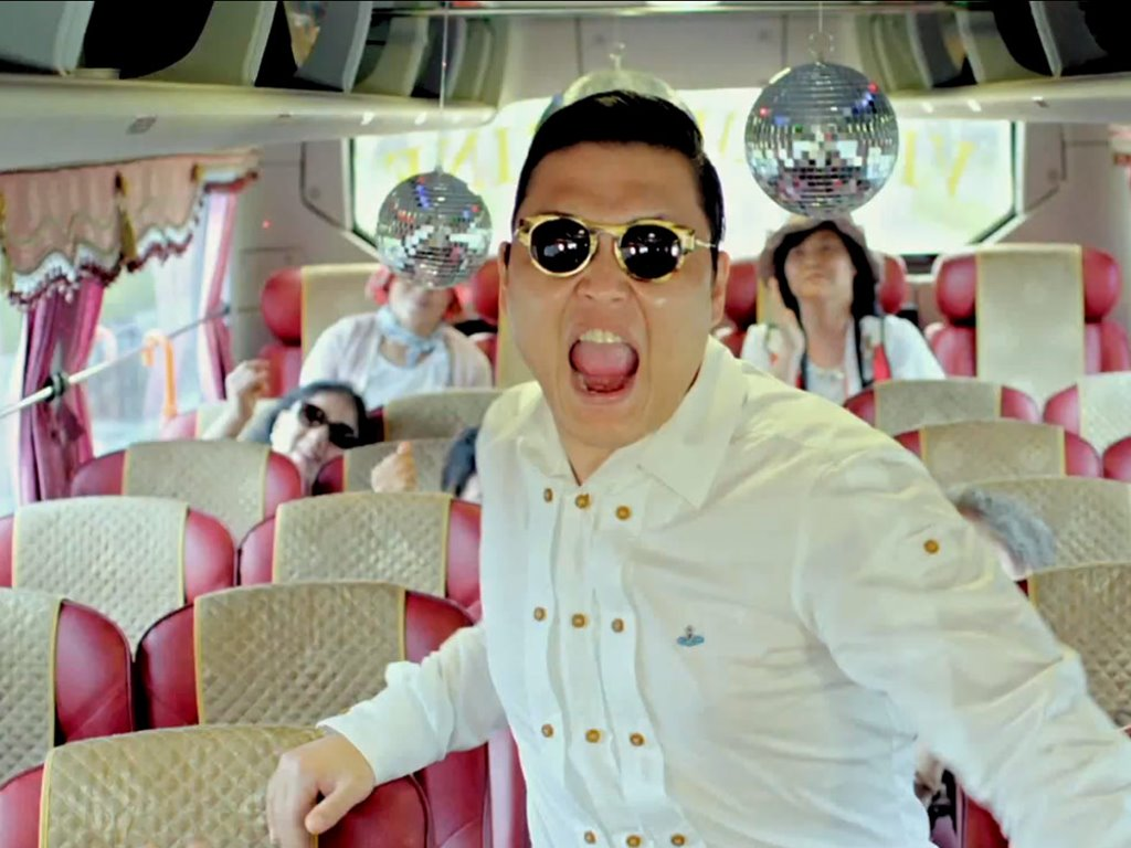 Music Wallpaper: Psy - Gangnam Style