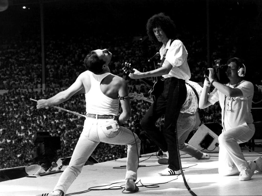 Music Wallpaper: Queen - Rock in Rio 1985