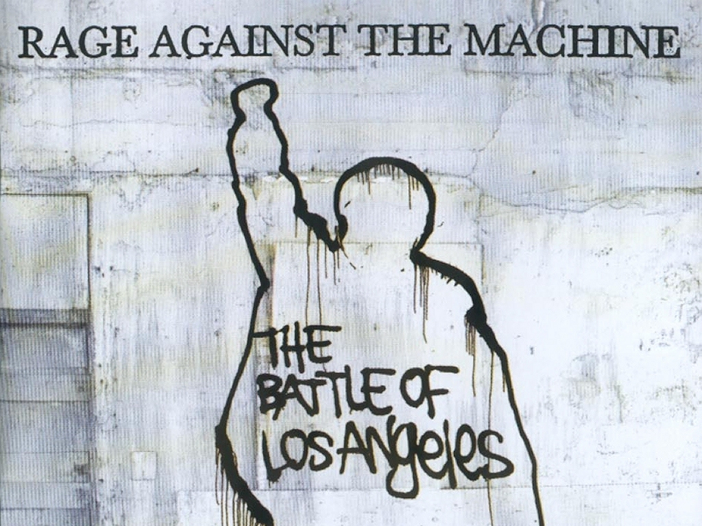 Music Wallpaper: Rage Against the Machine - The Battle of Los Angeles