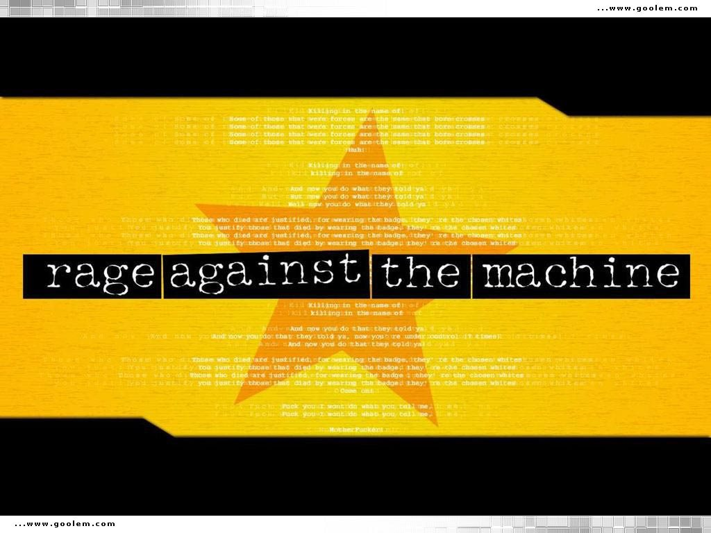 Music Wallpaper: Rage Against the Machine