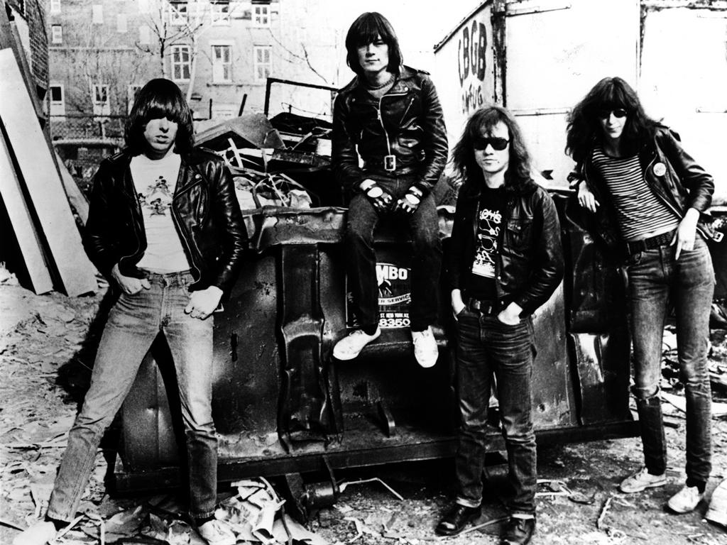 Music Wallpaper: Ramones