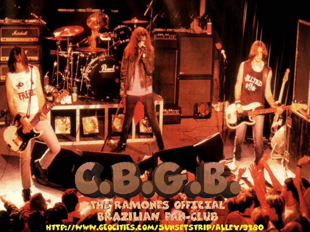 Music Wallpaper: Ramones - CBGB