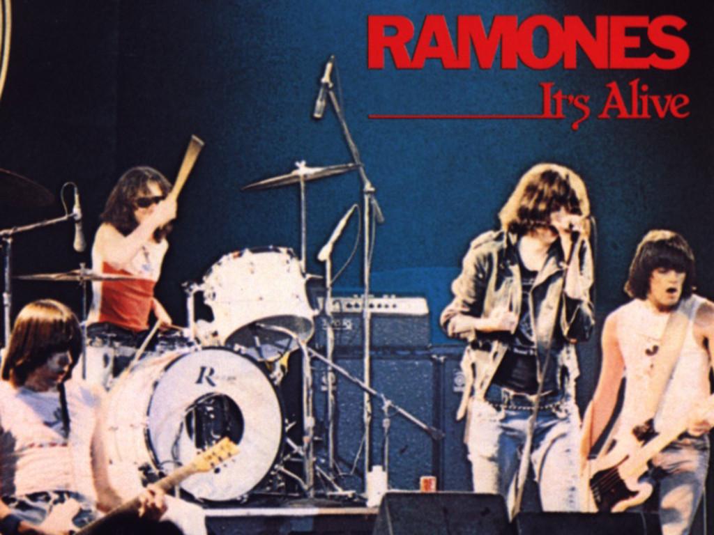 Music Wallpaper: Ramones - It's Alive