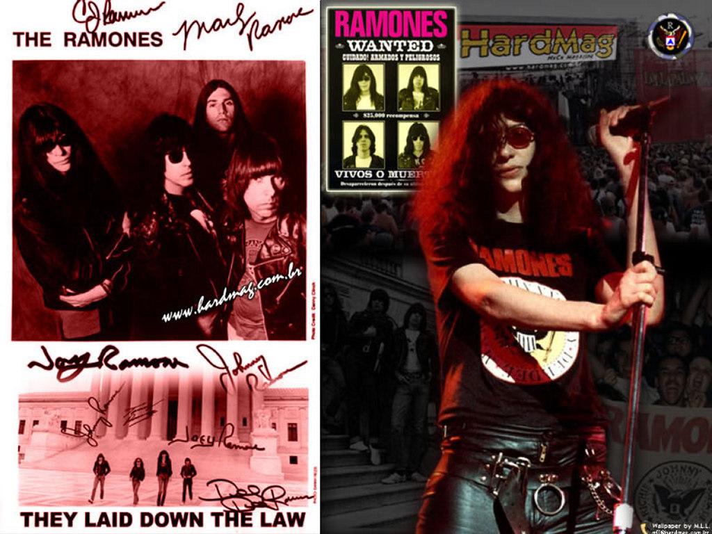 Music Wallpaper: Ramones - Joey Ramone