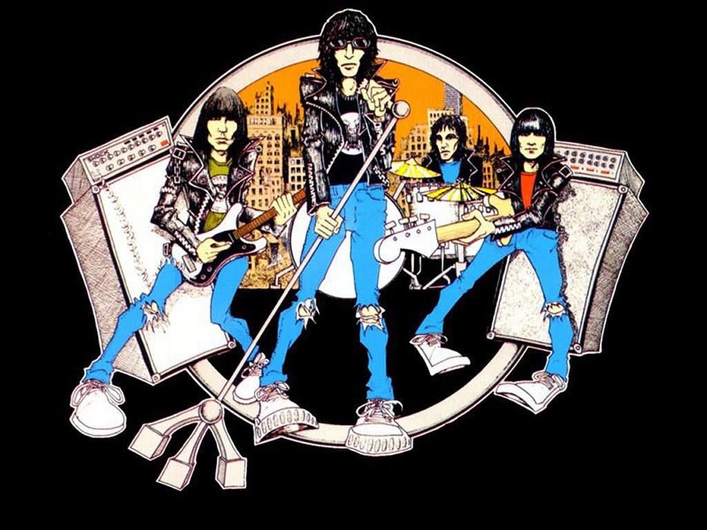 Music Wallpaper: Ramones - Road to Ruin