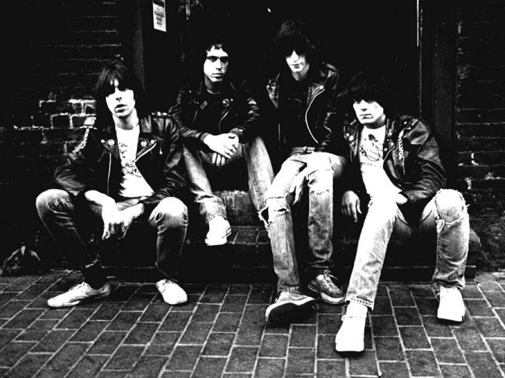 Music Wallpaper: Ramones - Early Years