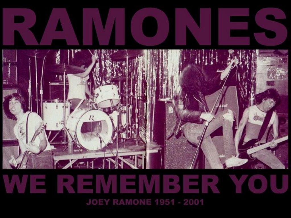 Music Wallpaper: Ramones - We Remember You