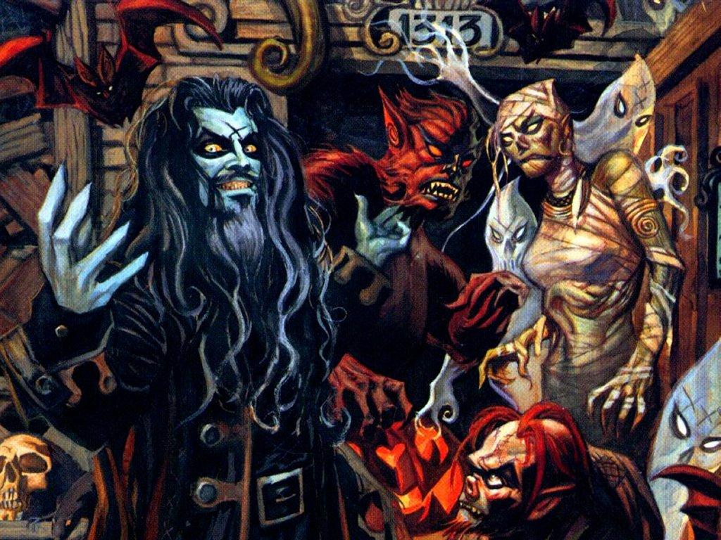 Music Wallpaper: Rob Zombie - Cartoonish
