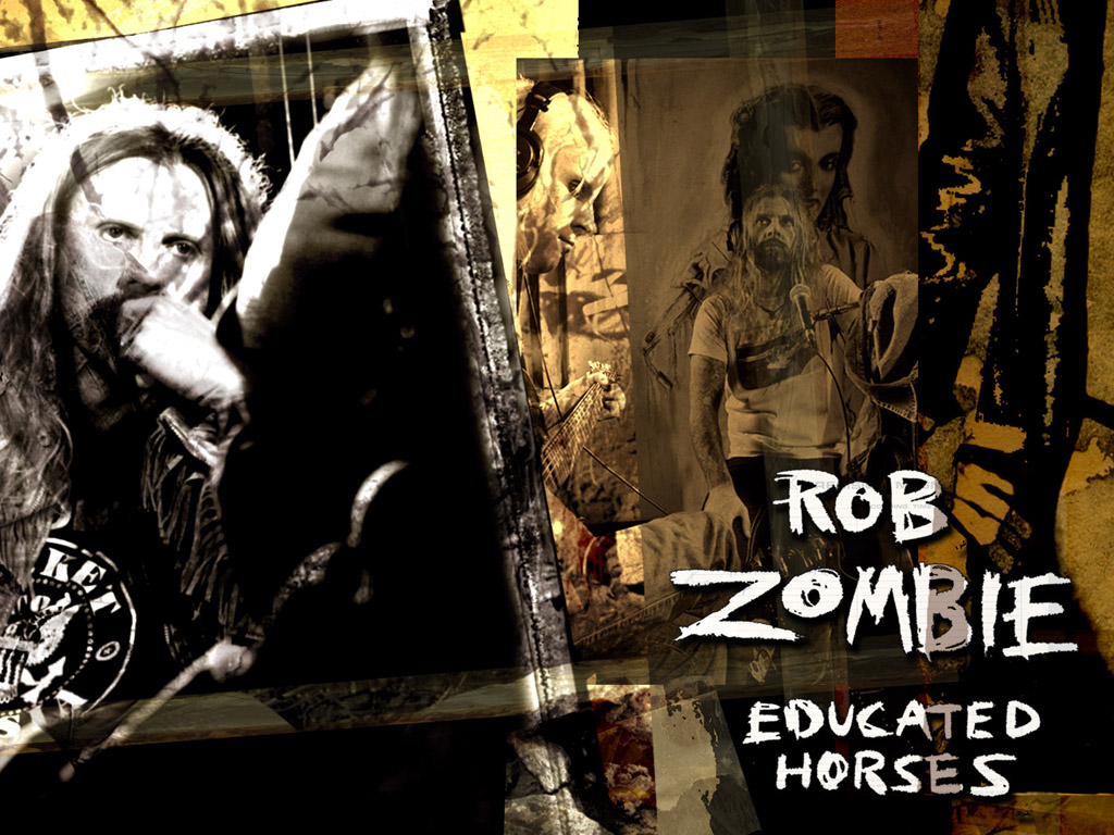 Music Wallpaper: Rob Zombie - Educated Horses