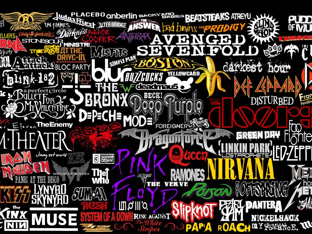 Music Wallpaper: Rock - Logos