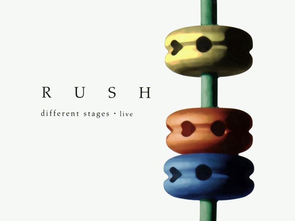 Music Wallpaper: Rush - Different Stages