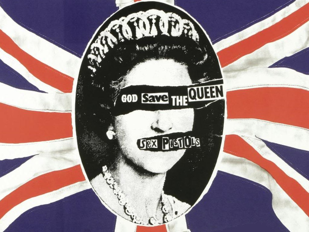 Music Wallpaper: Sex Pistols - God Save the Queen