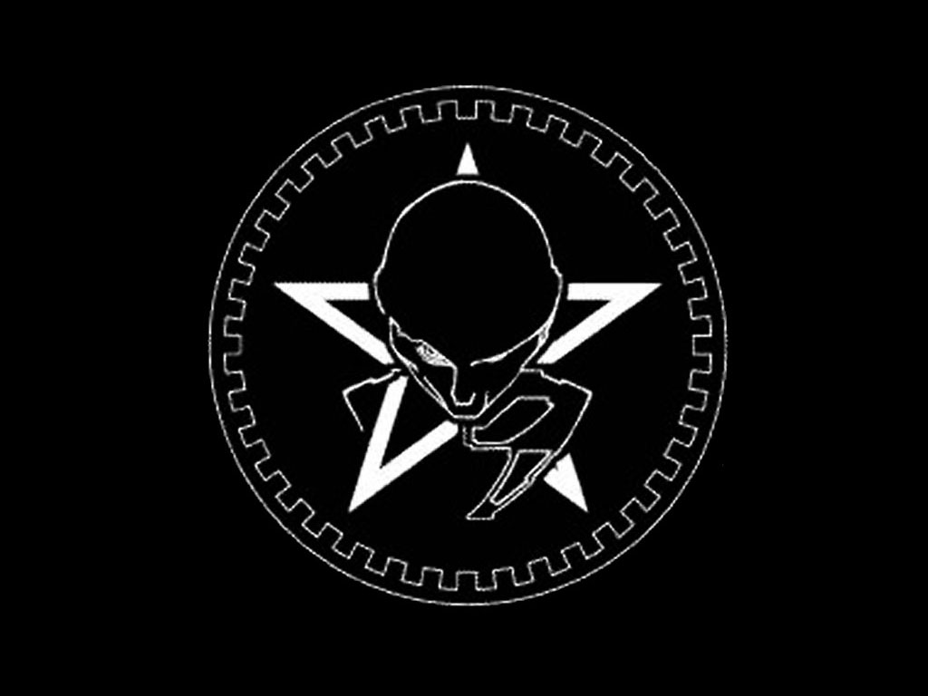 Music Wallpaper: Sisters of Mercy Logo
