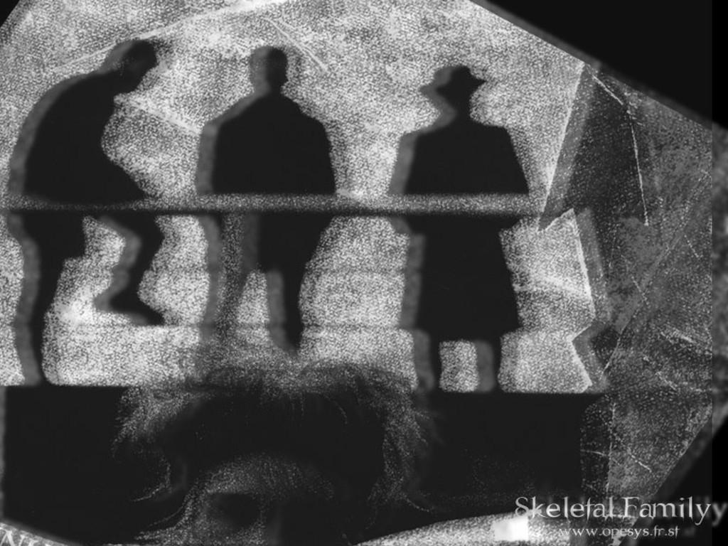 Music Wallpaper: Skeletal Family