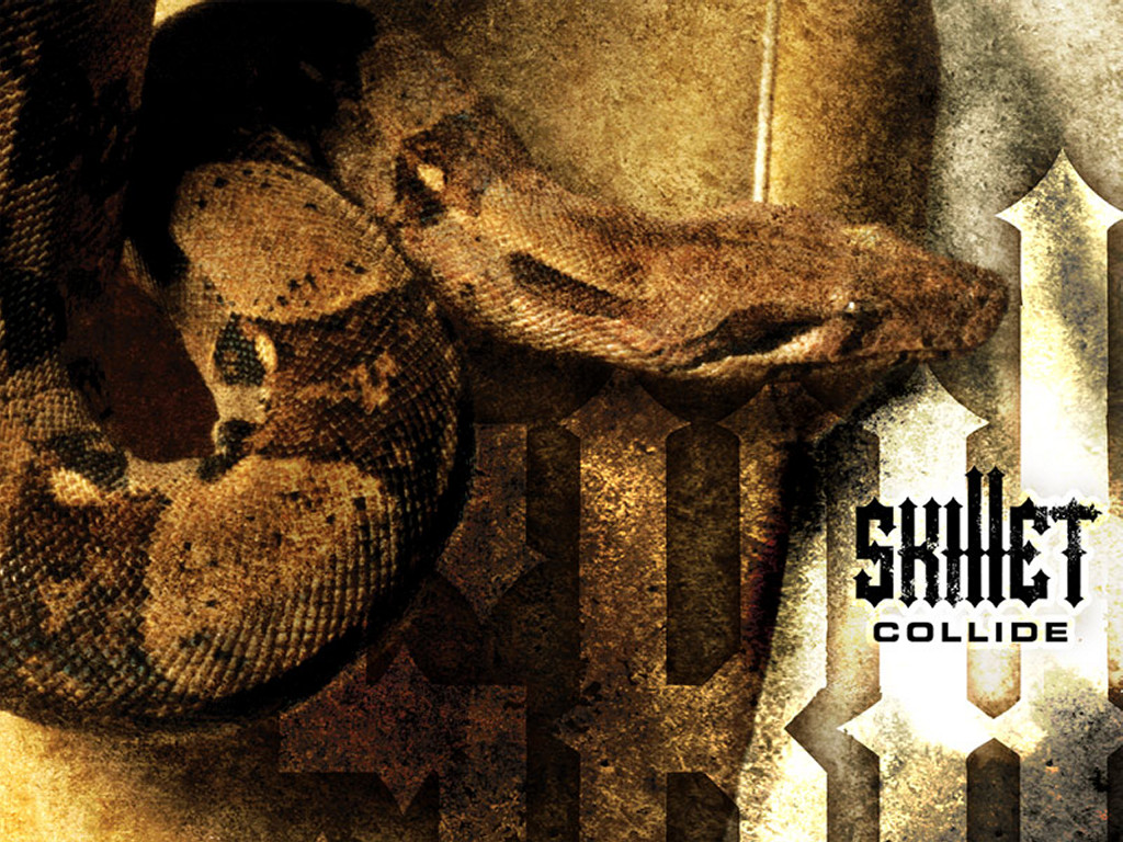 Music Wallpaper: Skillet - Collide
