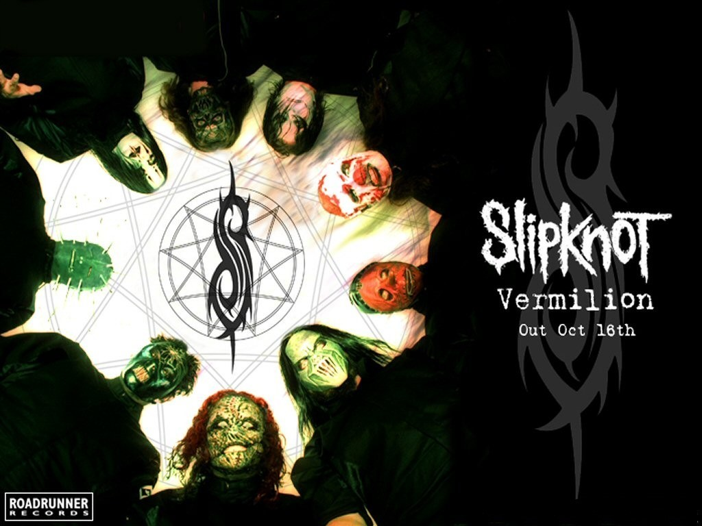 Music Wallpaper: Slipknot - Vermillion