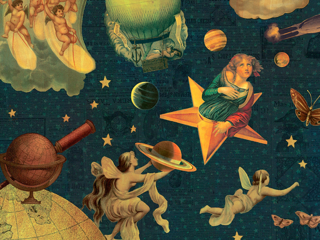 Music Wallpaper: Smashing Pumpkins - Mellon Collie and the Infinite Sadness