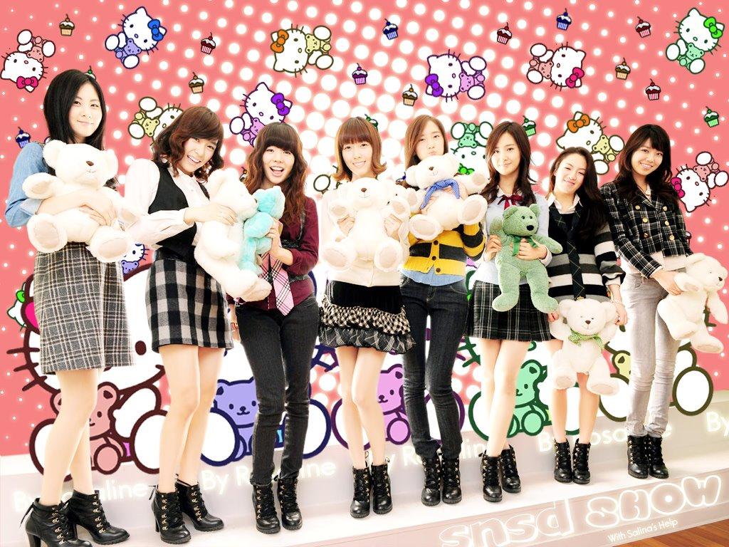 Music Wallpaper: Girls' Generation - SNSD