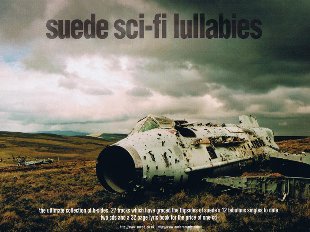 Music Wallpaper: Suede - Sci-Fi Lullabies