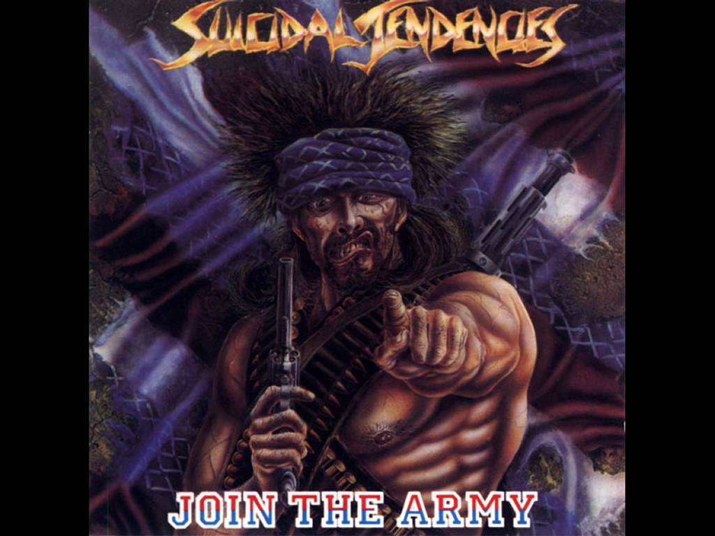 Music Wallpaper: Suicidal Tendencies - Join the Army