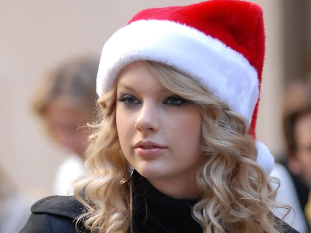 Music Wallpaper: Taylor Swift - Christmas
