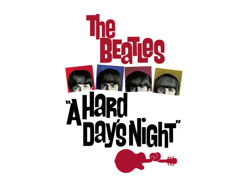 Music Wallpaper: The Beatles - A Hard Day's Night