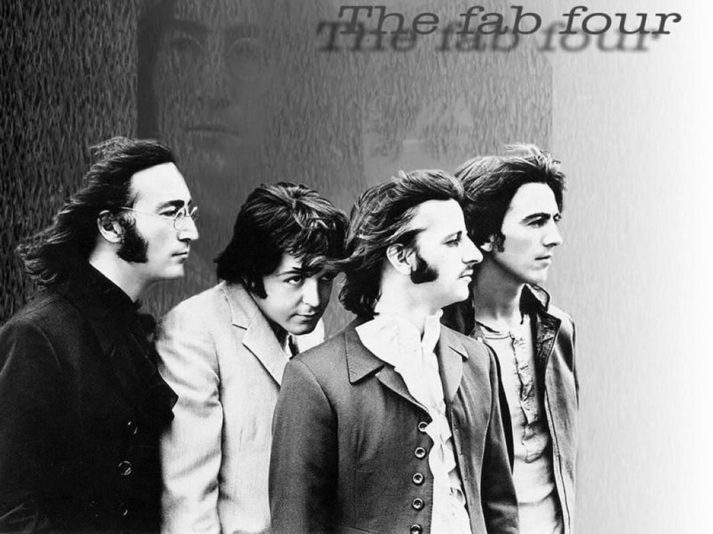 Music Wallpaper: The Beatles Forever - The Fab Four