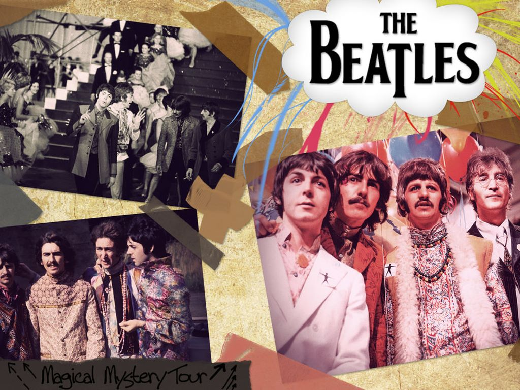 Music Wallpaper: The Beatles - Magical Mystery Tour