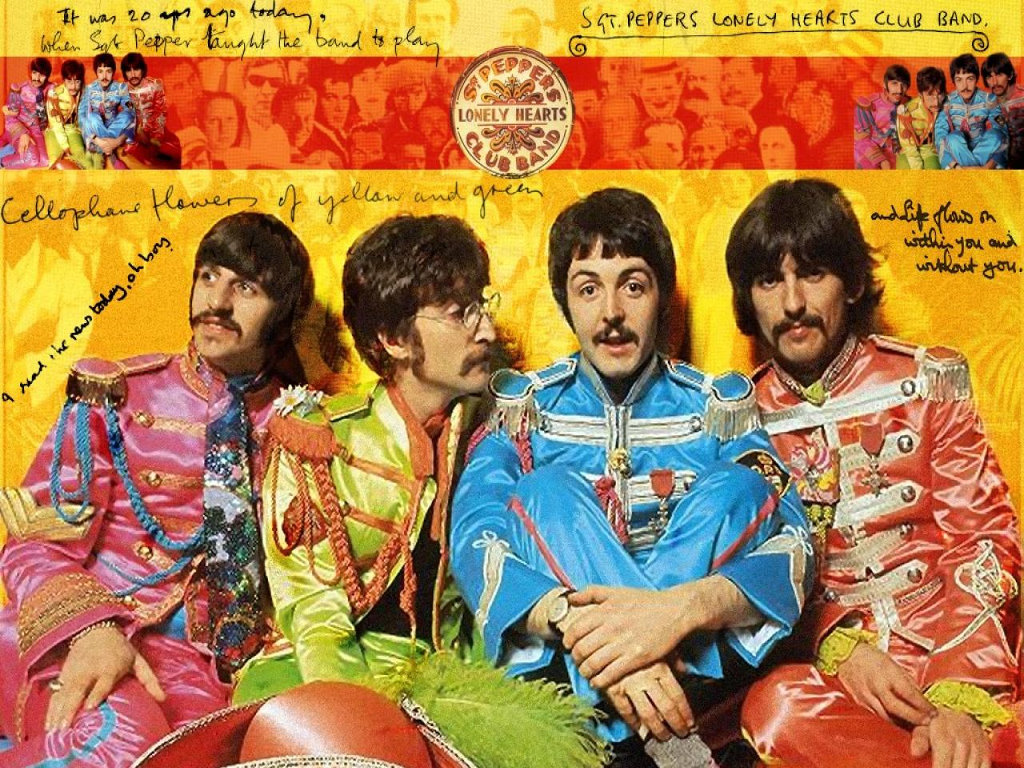 Music Wallpaper: The Beatles - Sgt. Pepper's Lonely Hearts Club Band