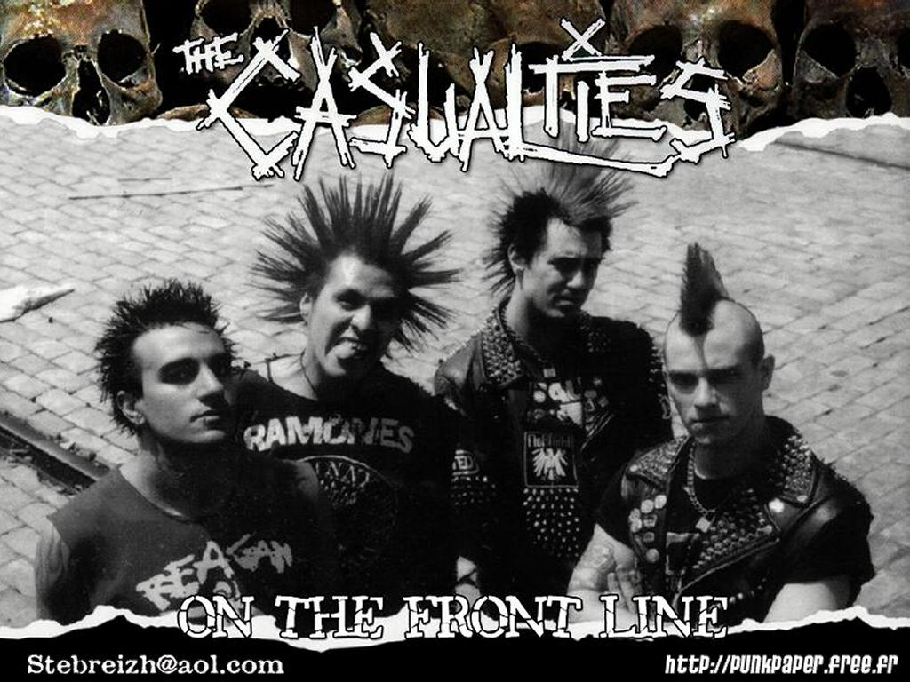 Music Wallpaper: The Casualties