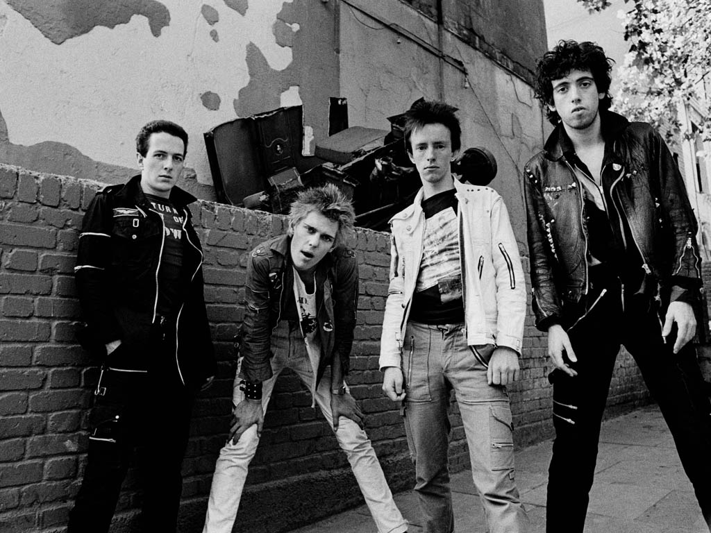 Music Wallpaper: The Clash