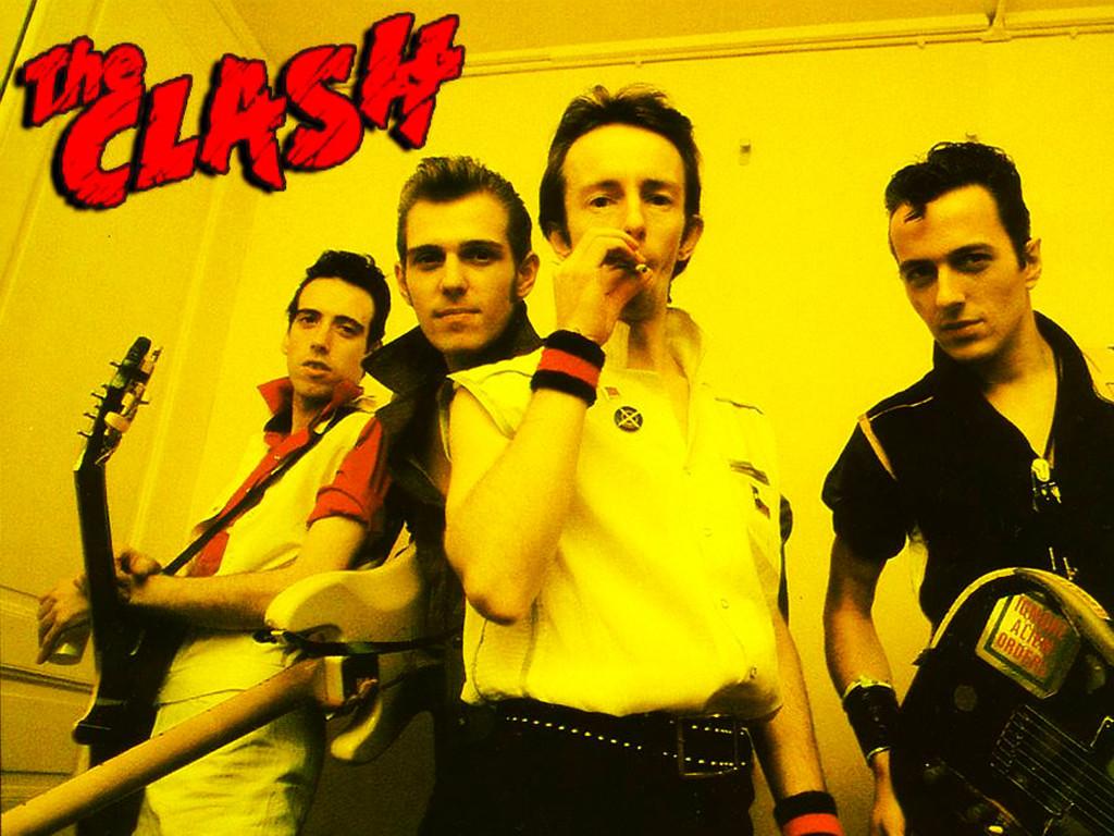 Music Wallpaper: The Clash