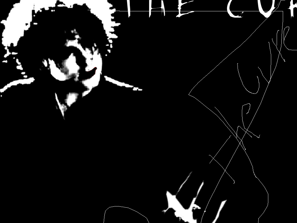 Music Wallpaper: The Cure