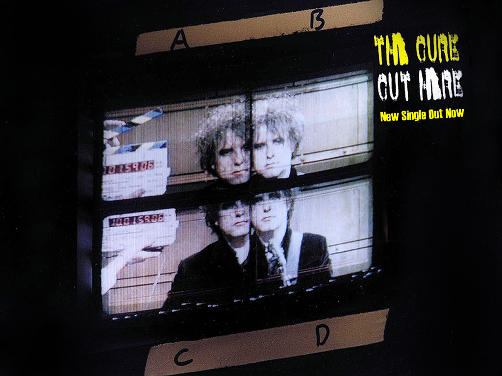 Music Wallpaper: The Cure - Cut Here
