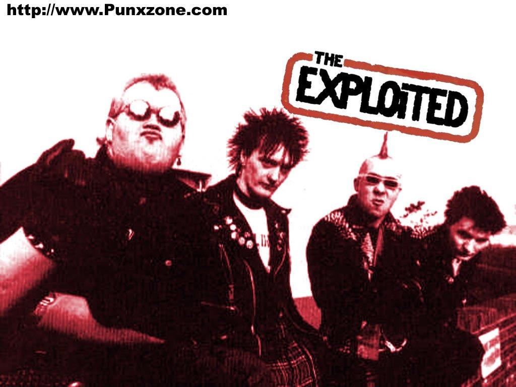 Music Wallpaper: The Exploited