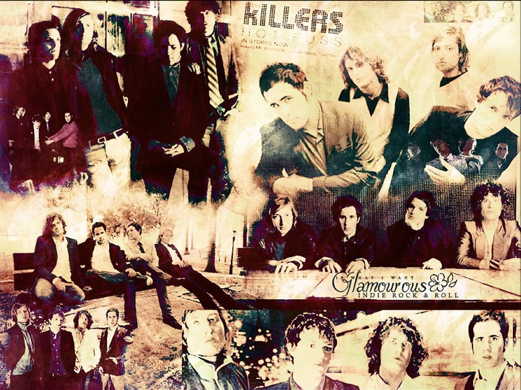 Music Wallpaper: The Killers