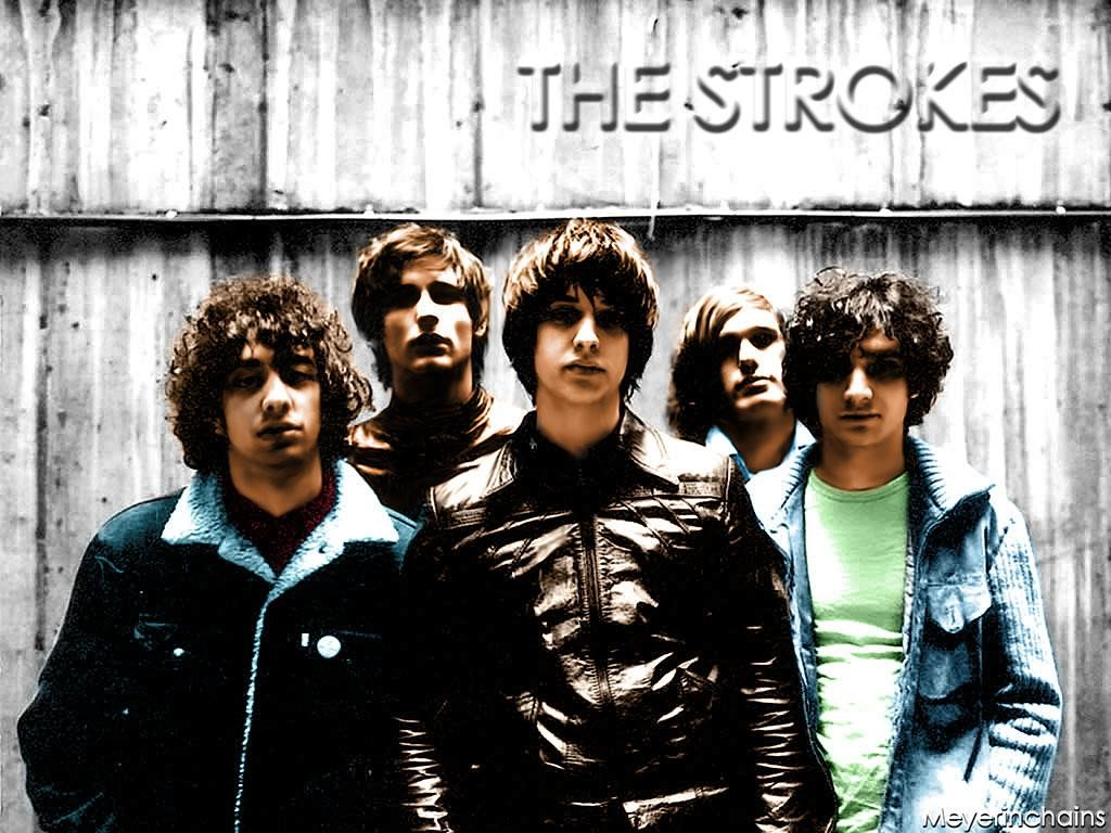Music Wallpaper: The Strokes