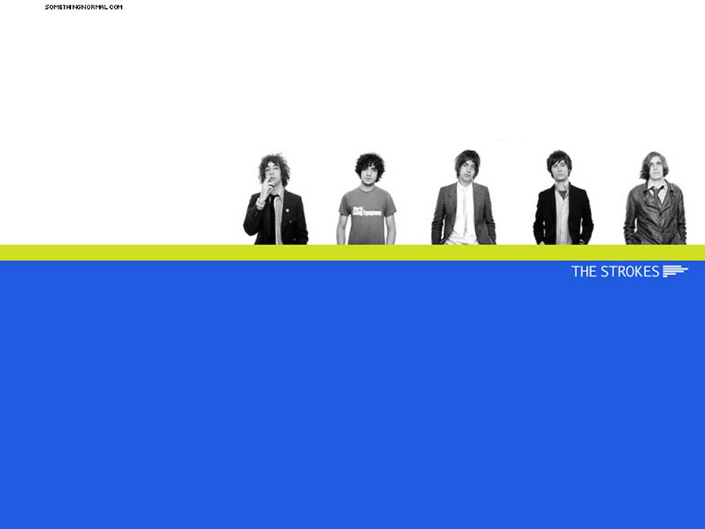 Music Wallpaper: The Strokes
