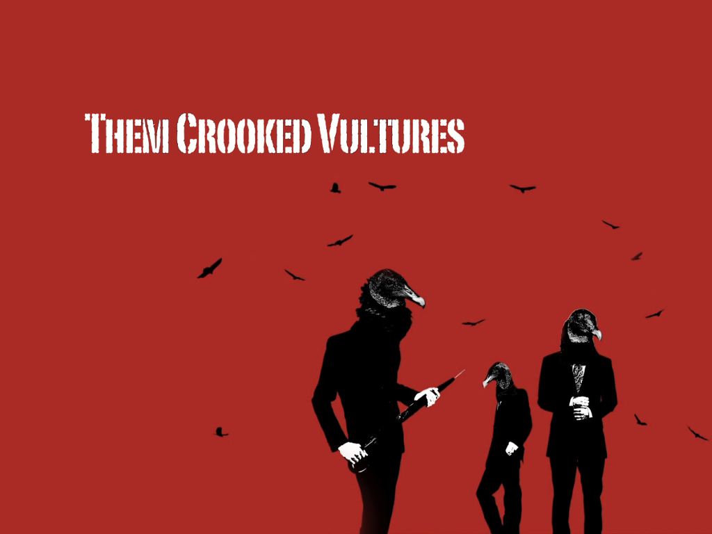 Music Wallpaper: Them Crooked Vultures