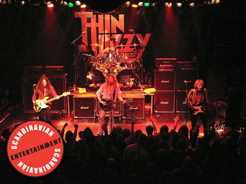 Music Wallpaper: Thin Lizzy