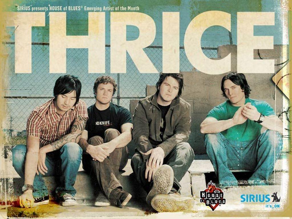Music Wallpaper: Thrice