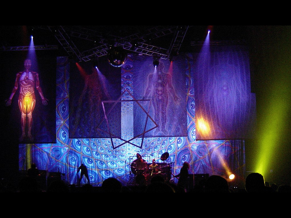 Music Wallpaper: Tool - On Stage